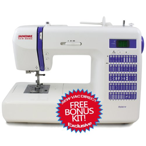 Janome dc2014 computerized sewing machine with free bonus for Decor 99 sewing machine