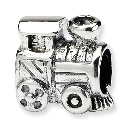 Sterling Silver Reflections Kids Train Bead