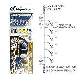 ハヤブサ(Hayabusa) 船極喰わせサビキ 落し込み ケイムラ&ホロフラッシュ 強靭イサキ6本 SS426 10-12-12