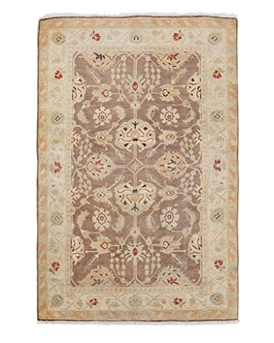 Solo Rugs Oushak Oriental Rug, Brown, 3' x 4' 7""