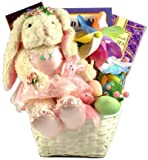 Easter Ballerina -Gourmet Easter Basket for Girls with Ballerina Bunny
