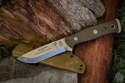 TOPS B.O.B. Brothers of Bushcraft Survival Knife Coyote Tan Blade BROS-01TAN from Tops Knives