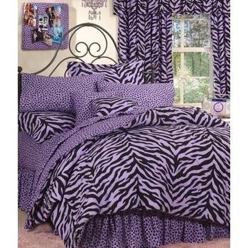 Zebra Print Accessories For Bedroom front-220817