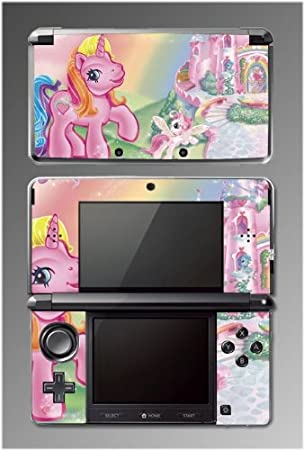 My Little Pony Applejack Pinkie Pie Horse Video Game Vinyl Decal Cover Skin Protector 3 Nintendo 3DS