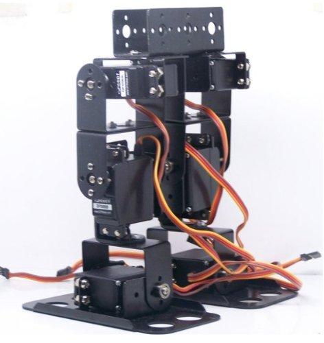 Gowe® Biped Robot Chassis Brat 6 Servo Walker Kit Ready To Run
