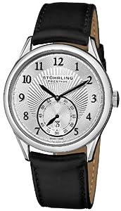 Stuhrling Prestige Caballero 171B3.33152 Prestige Swiss Made Adamant Automatic Date Silver Tone Reloj