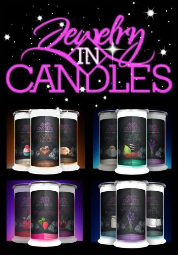 Jewelry in Candles - 21oz - Jewelry Hidden Inside! Scent: Apple Harvest