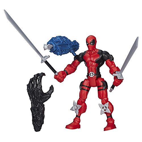 Marvel Super Hero Mashers Deadpool Figure (Deadpool Toys Action Figures compare prices)