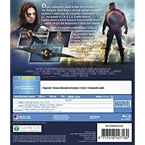 Captain America - The winter soldier [Blu-ray] [Import italien]