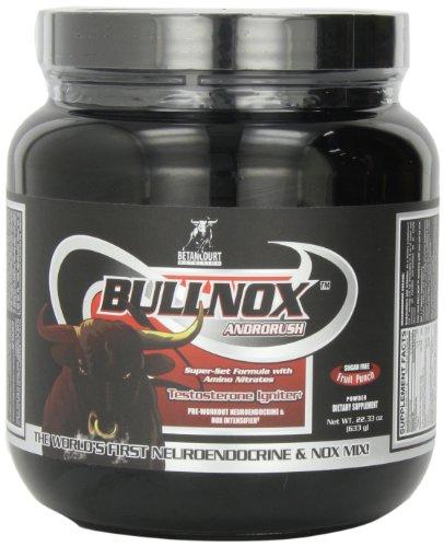 Betancourt Nutrition  Bullnox Androrush, Fruit Punch, 35 Servings, 22.33  Ounce bottle