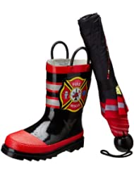 45% Off Kids' Rain Boot & Umbrella Sets – Just $26.39!