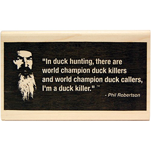 KellyCraft Innovations DC-50070 Duck Commander Duck Kille Wood Mount Stamp