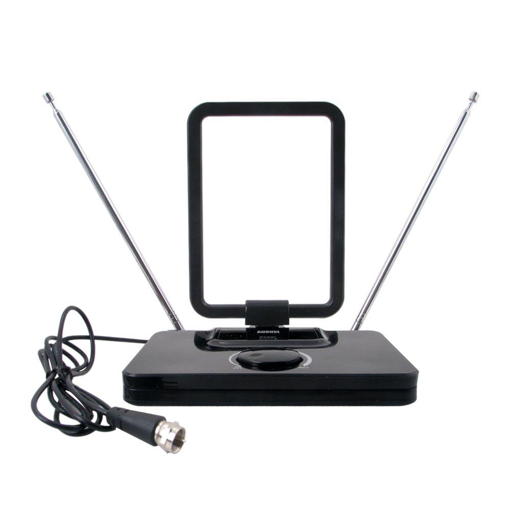 August DTA305 Antena TV TDT con Amplificador de Señal  Electrónica Comentarios y más información