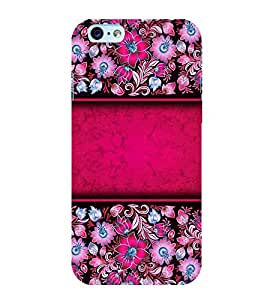 Floral Pattern Back Case Cover for Apple iPhone 6S