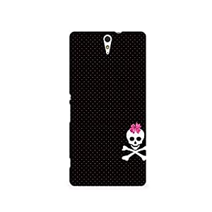 TAZindia Printed Hard Back Case Cover For Sony Xperia C5