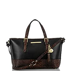 Mini Asher Tote<br>Black Tuscan