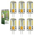MENGS® 6 Stück G4 3W LED Birne 57x301...