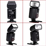 Flash YN-460 Flash Speedlite Slave Flash Unit for Canon Nikon Olympus Pentax SLR Camera Canon EOS 1D 5D 40D 50D 350D 400D 450D 550D 1000D Olympus E520 E510 E450 E420 E600 E410 EP1 EP2