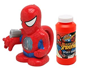 Amazon.com: Imperial Toy Spiderman Bubble Bellie: Toys & Games