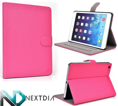 Click to buy Apple iPad Air with WiFi A1474 16GB- Case and Stand ( Magenta ) Plus Plug-in Stylus from NextDia - From only $9.98