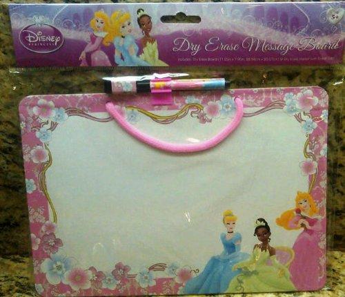 Disney Princess Dry Erase Message Board 11.25 Inch X 7.9 Inch