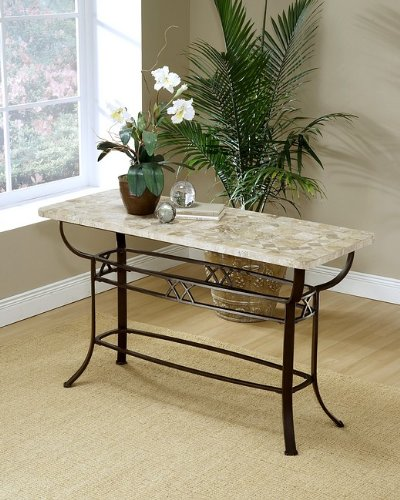 Cheap Brookside Fossil Stone Top Sofa Console Table (AZ00-21338×24361)