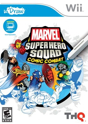 uDraw Marvel Super Hero Squad: Comic Combat - Nintendo Wii (Super Hero Squad Helicarrier compare prices)