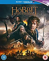The Hobbit: The Battle of the Five Armies [Blu-ray] [2015] [Region Free]