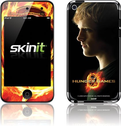 Skinit The Hunger Games -Peeta Mellark Vinyl Skin for iPod Touch (4th Gen)