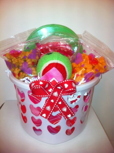 Dog Valentine's Day Gift Basket