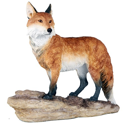 Red Fox Realistic Looking Wildlife Collection Figurine Decor Gift 10 Inch