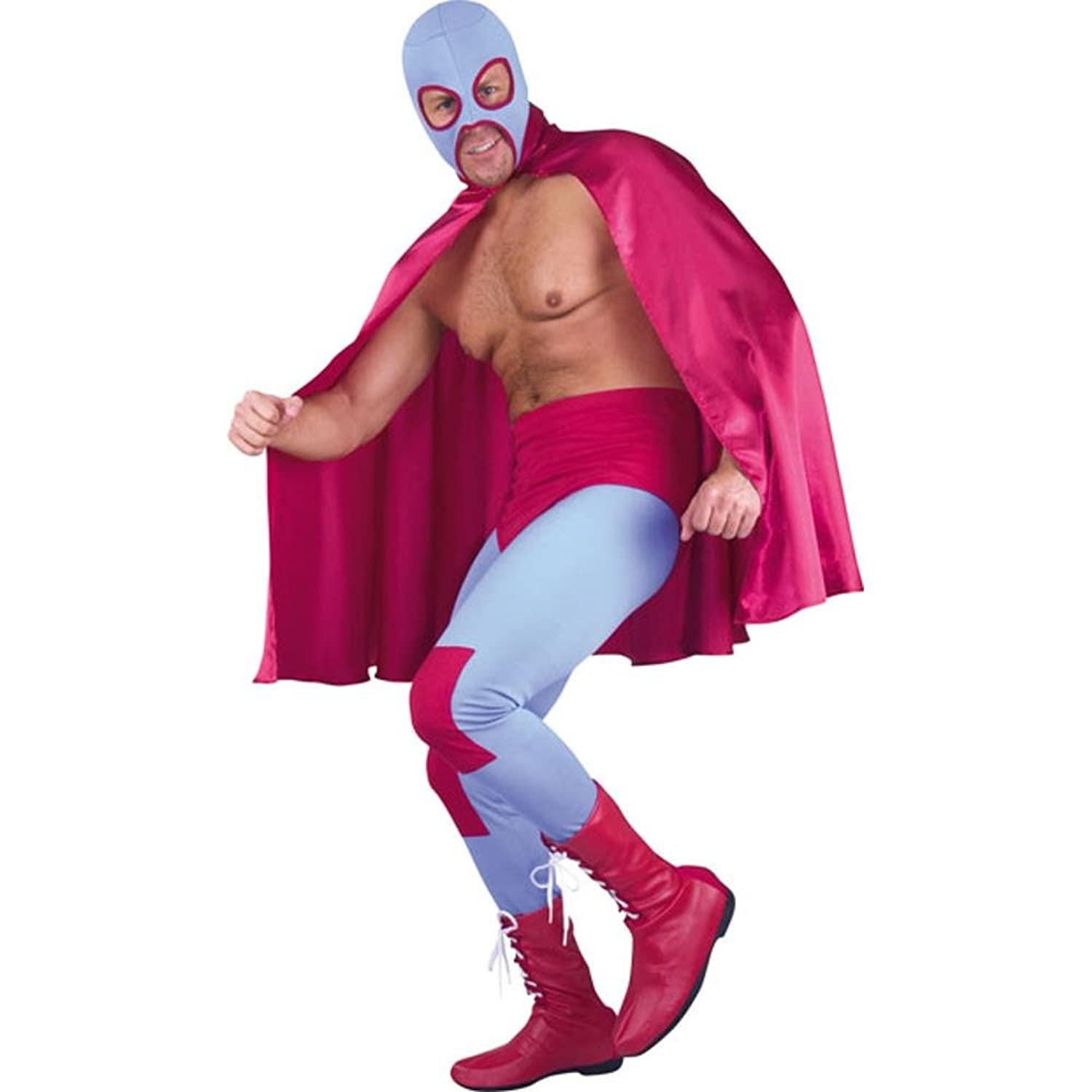 Wrestler Costumes Adults Adult Mexican Wrestler Costume
