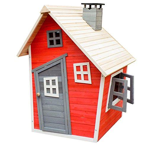 spielhaus aus holz f r den garten oder das kinderzimmer. Black Bedroom Furniture Sets. Home Design Ideas