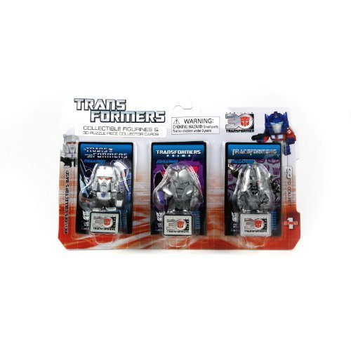 Transformers Collectible Figurines & 3D Puzzle collector cards - Megatron - 1
