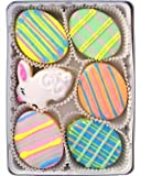 Beautiful Sweets Pastel Easter Eggs Organic Cookies