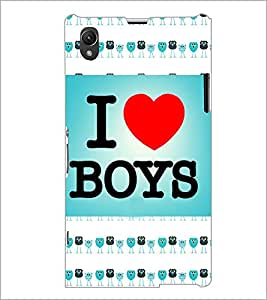 PrintDhaba Quote D-4836 Back Case Cover for SONY XPERIA Z1 (Multi-Coloured)