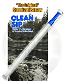 AOR POWER(TM) Survival Water Filter Straw - Planet's Smallest Personal Water Filter Straw! Excellent For Bobs, Tourists, Walkers, Seekers, Sportsmen's, Missionaries, Angler, Outdoor Enthusiasts And it's Also an Emergency Situation Water Filter, Light & Thin Water Survival Water Filter Travel Straw - The World's Smallest And Best TSA Compatible Portable Water Filter Straw. Small and Sufficient To Discretely Bring In Your Pocket or Bag yet Big Enough To Remove Unsafe Germs, Viruses and Also Heavy Metals Anywhere In the Globe. - WARNING : DO NOT DRINK THE WATER WITHOUT THIS STRAW!! FREE COMPASS INCLUDED! ($6.97 Value)
