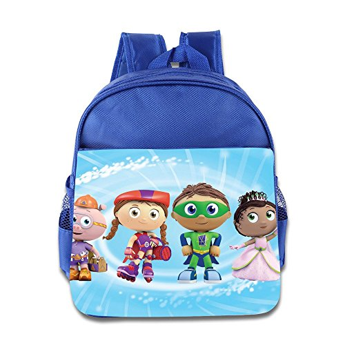 Kids Super Why School Backpack Cute Children School Bag RoyalBlue (Power Rangers Flag compare prices)