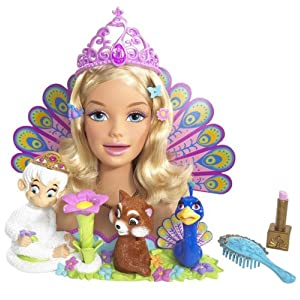 Barbie Island Princess Rosella Karaoke Styling Head