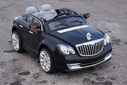 maybach style battery operated ride on toy car with remote control 12 volts little kid cars