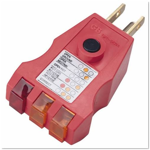 House Circuit Tester : Gardner bender gfi a ground fault receptacle tester and