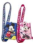 Disney Set of 2 Mickey and Minnie Mou...