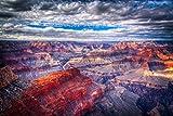 Grand Canyon Poster (36X24) Large Elegant Panoramic Souvenir Sunset Print