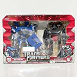 Transformers 2: Revenge of the Fallen Movie Exclusive Deluxe Class 2-Pack Super Tuner Throwdown Blowpipe & Sideways ~ Transformers