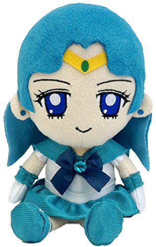 BanDai Sailor Moon Series 2 Neptune Plush Doll, 7""