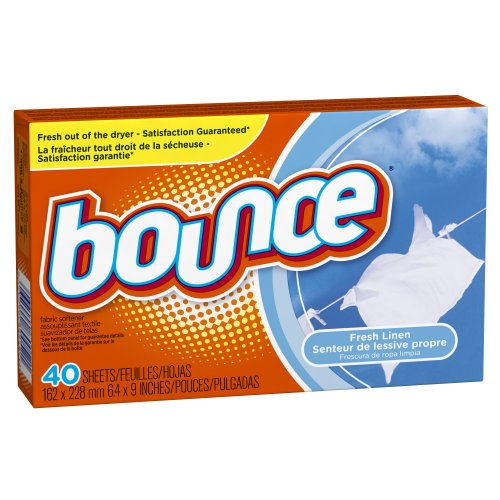 Bounce Fresh Linen Sheets, 40-Count (Pack Of 3)