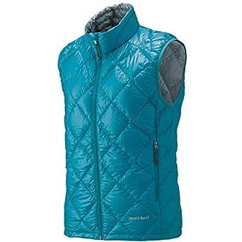 MontBell Ultralight Down Vest - Women's Peacock Blue, S