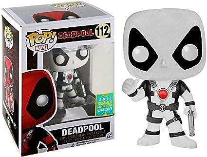 Funko Pop Marvel : Deadpool (Blanc) 2016 SDCC Exclusive Figurine En Vinyle