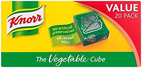 Knorr Stock Cubes Vegetable 20x10g
