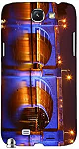 Timpax protective Armor Hard Bumper Back Case Cover. Multicolor printed on 3 Dimensional case with latest & finest graphic design art. Compatible with Samsung Galaxy Note II N7100 Design No : TDZ-27845